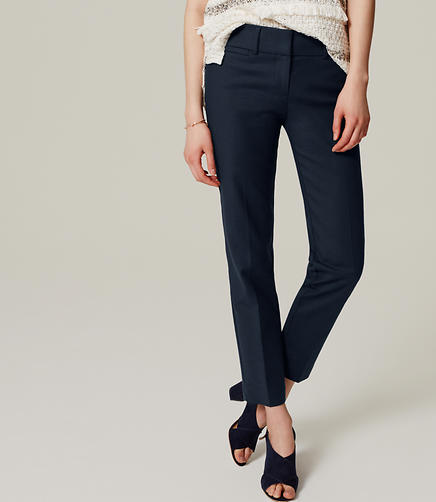 Image of Doubleweave Riviera Cropped Pants in Marisa Fit