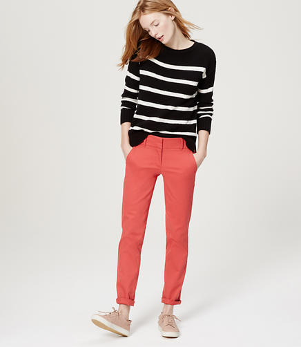 Image of Cropped Skinny Chinos in Marisa Fit