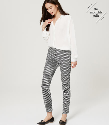 Image of Mosaic Skinny Ankle Pants in Marisa Fit