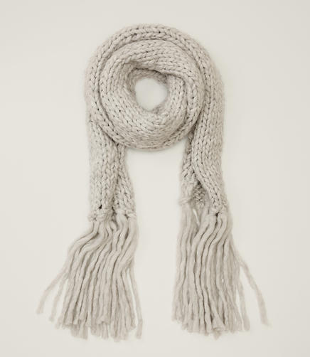 Image of Oversized Fringe Scarf