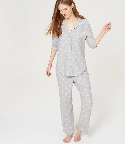 Image of Polka Dot Pajama Set