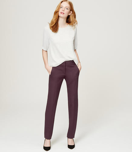 Image of Scuba Straight Leg Pants in Marisa Fit