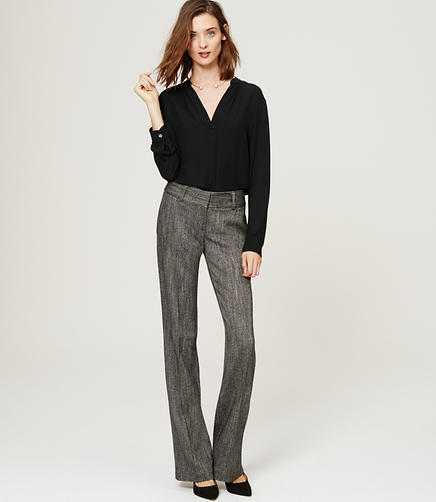 Image of Herringbone Trousers in Marisa Fit with 31