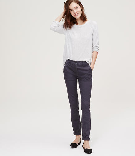 Image of High Waist Skinny Utility Pants