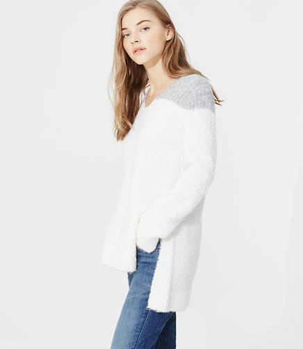 Image of Lou & Grey Blocked Cloud Boucle Tunic