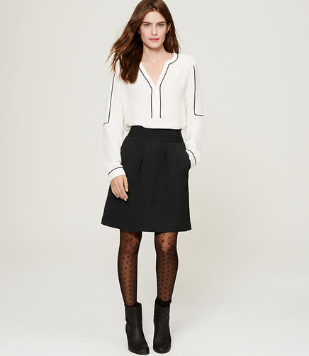 Image of Jacquard Shift Skirt