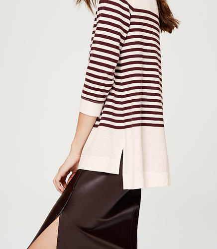 Image of Striped Boatneck Tee