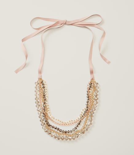 Image of Rondelle Multistrand Necklace