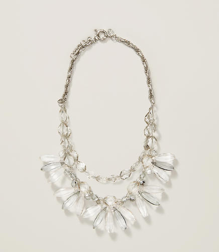 Image of Lucite Statement Necklace