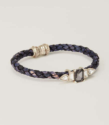 Image of Cast Leather Bracelet