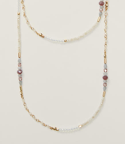 Image of Delicate Beaded Necklace