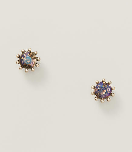 Image of Twilight Crystal Stud Earrings