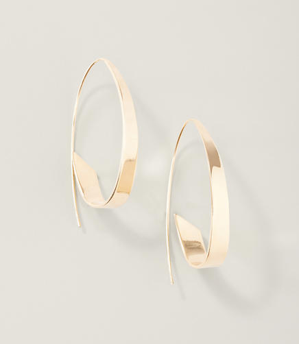 Image of Modern Hoop Earrings