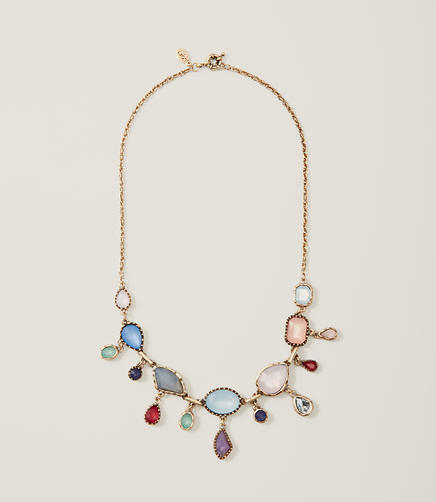 Image of Multicolored Gem Necklace