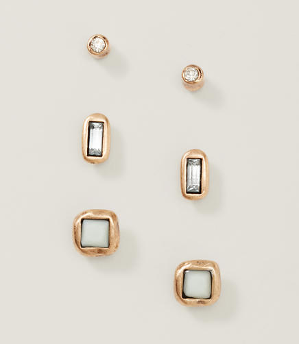 Image of Neutral Stud Earring Set