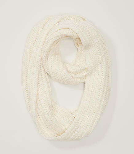 Image of Shimmer Knit Infinity Scarf
