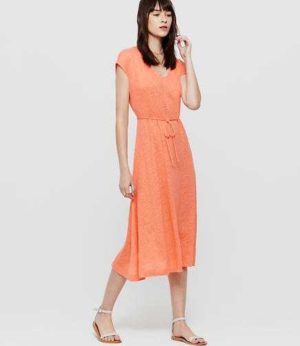 Image of Lou & Grey Linen Midi Dress
