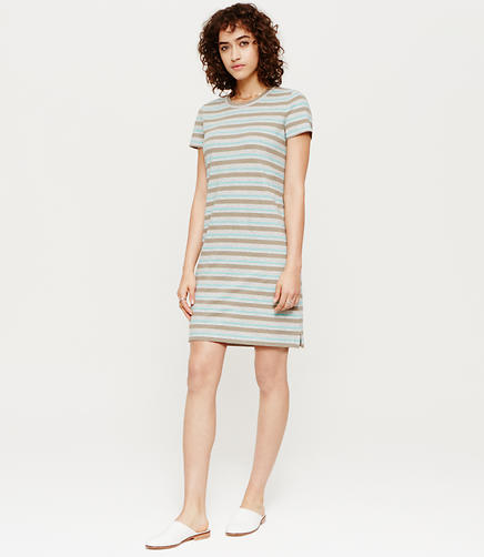 Image of Lou & Grey Mixstripe Tee Dress