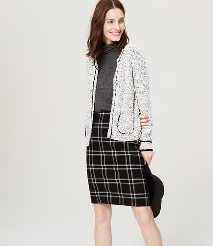Image of Petite Boucle Sweater Jacket