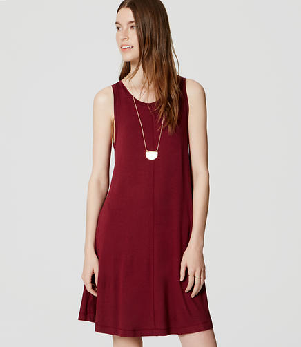 Image of Sleeveless Swing Dress