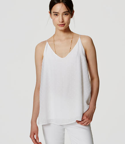 Image of Dot Textured Cami