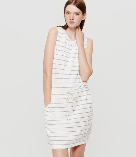 Image of Lou & Grey Striped Muscle Tee Dress