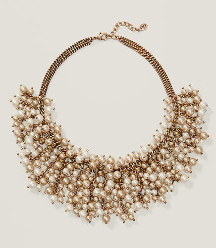 Image of Champagne Cluster Necklace
