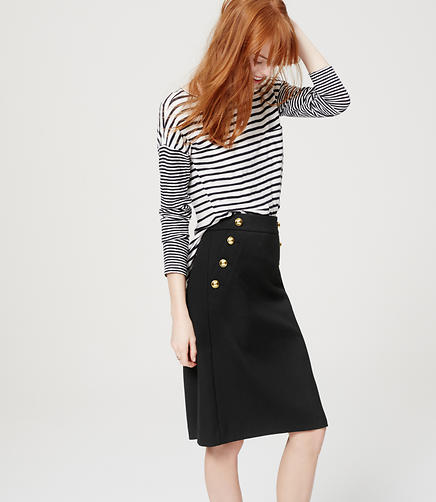 Image of Sailor Pencil Skirt