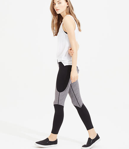 Image of Lou & Grey Form Printblock Seamed Leggings