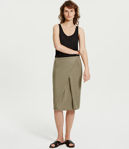 Image of Lou & Grey Pleated Signaturesoft Skirt