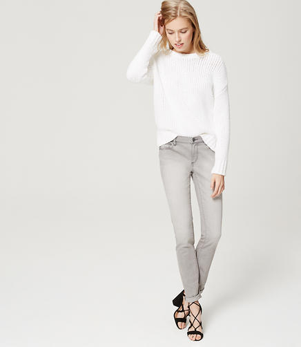 Image of Modern Skinny Jeans in Grey Stonewash