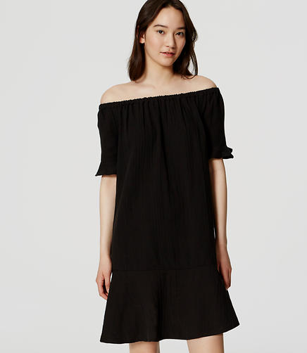 Image of Off-The-Shoulder Dress