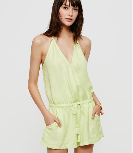 Image of Lou & Grey Brushed Linen Romper