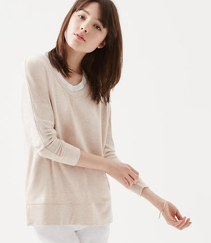 Image of Lou & Grey Signaturesoft V-Neck Tunic