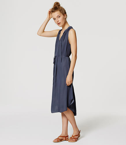 Image of Tie Neck Dress