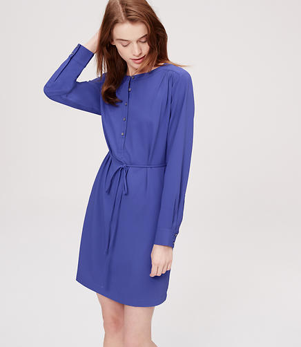 Image of Henley Shirtdress