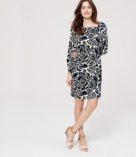 Image of Floral Pocket Shirtdress