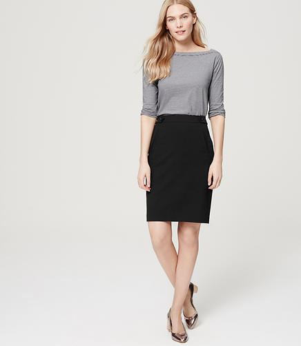 Image of Utility Custom Stretch Pencil Skirt