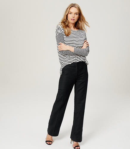 Image of Relaxed Straight Leg Pants in Marisa Fit