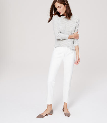 Image of Bi-Stretch Riviera Cropped Pants in Marisa Fit