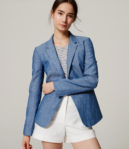 Image of Chambray Blazer