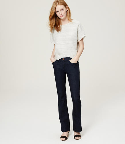 Image of Flare Jeans in Dark Rinse Wash