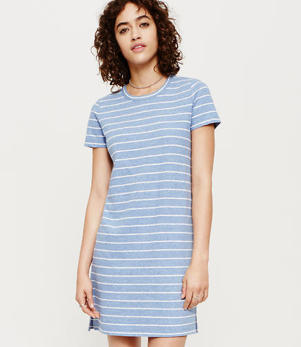 Image of Lou & Grey Striped Tee Dress