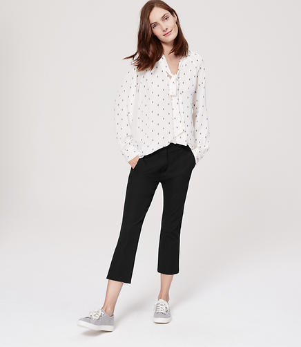 Image of Bi-Stretch Kick Crop Pants in Marisa Fit