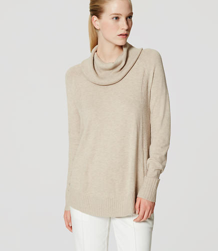 Image of Cowl Tunic Sweater