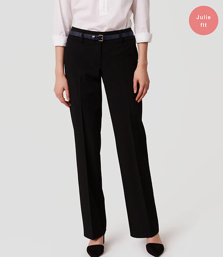 Image of LOFT Trousers in Julie Fit with 31