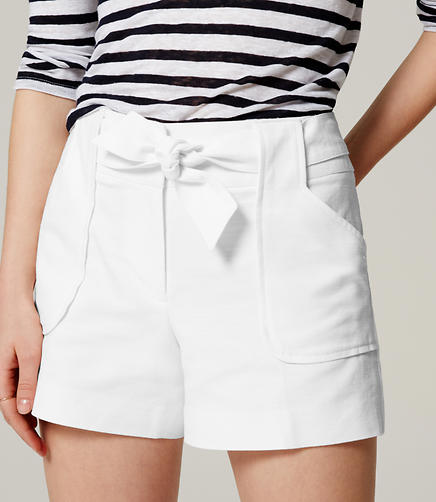 Image of Tie Waist Sally Shorts