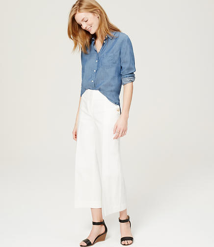 Image of Cropped Sailor Pants in Marisa Fit