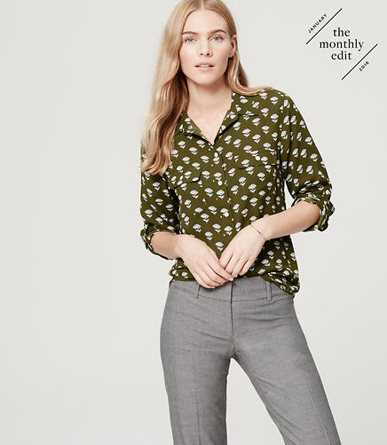 Image of Flora Utility Blouse