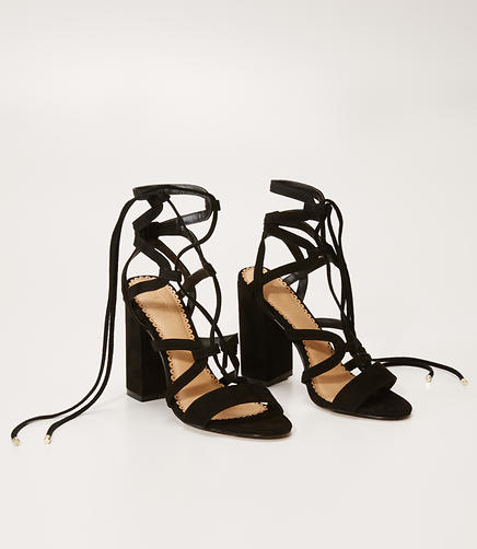 Image of Lace Up Heels
